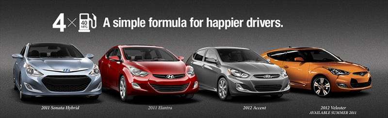 Illustration for article titled Hyundai And Kia Put $412 Million Away For People Stiffed Over Fuel Economy Claims