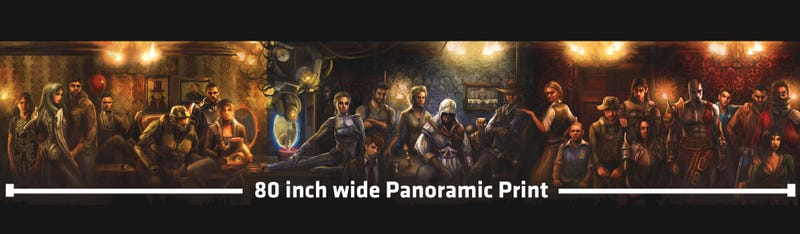 Illustration for article titled Own A Panoramic Piece of Game Informer History