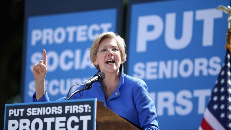 Illustration for article titled Elizabeth Warren Is Not Running for President, Says Elizabeth Warren