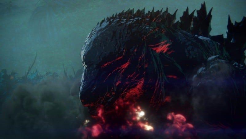 『GODZILLA 怪獣惑星』(C)2017 TOHO CO.,LTD.