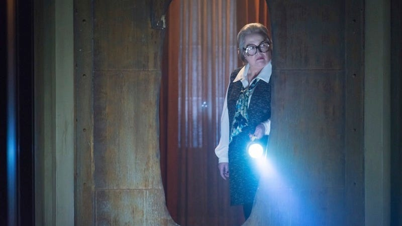 Kathy Bates as Iris in American Horror Story: Hotel, the show's fifth season. Image: Prashant Gupta/FX