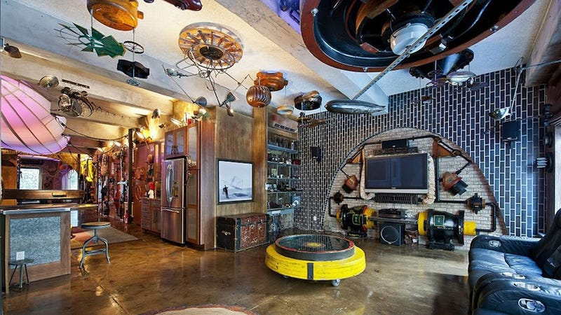 Grand Steampunk Homes And Businesses Straight From The Alternate Past