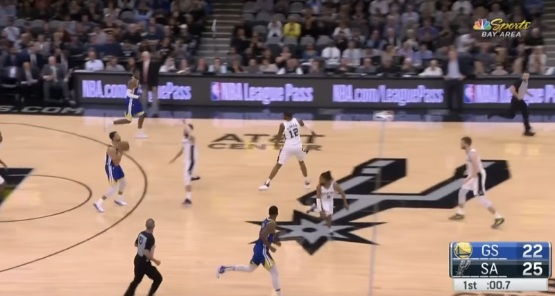 Steph Busts Out Of A Slump With A Damn 60-Footer