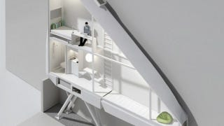 Illustration for article titled World's narrowest house will be less than 60 inches wide