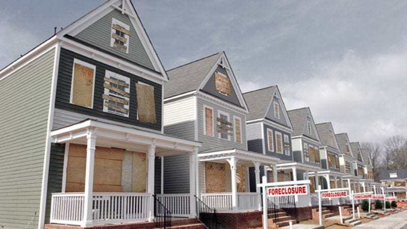 Potential for the storm to decrease property values has long since been irrelevant.