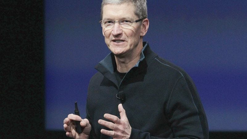Illustration for article titled New Apple CEO Tim Cook: 'I'm Thinking Printers'