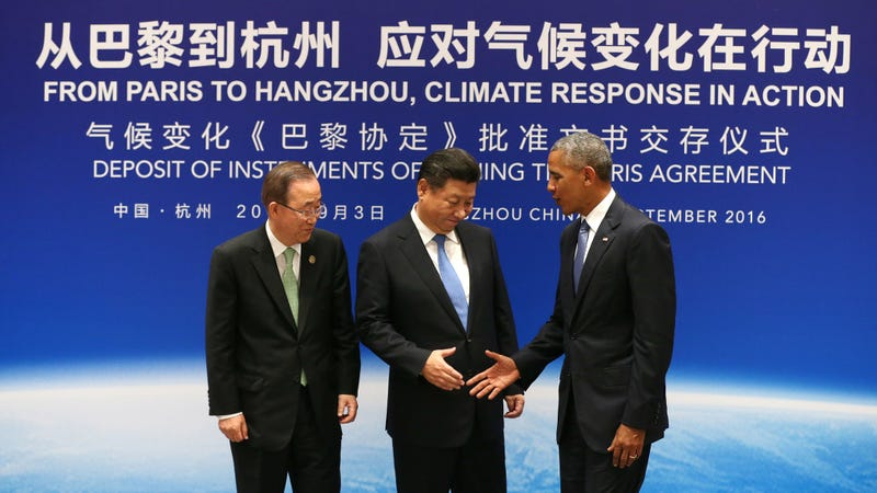 The Us And China Have Officially Ratified The Paris Climate Change