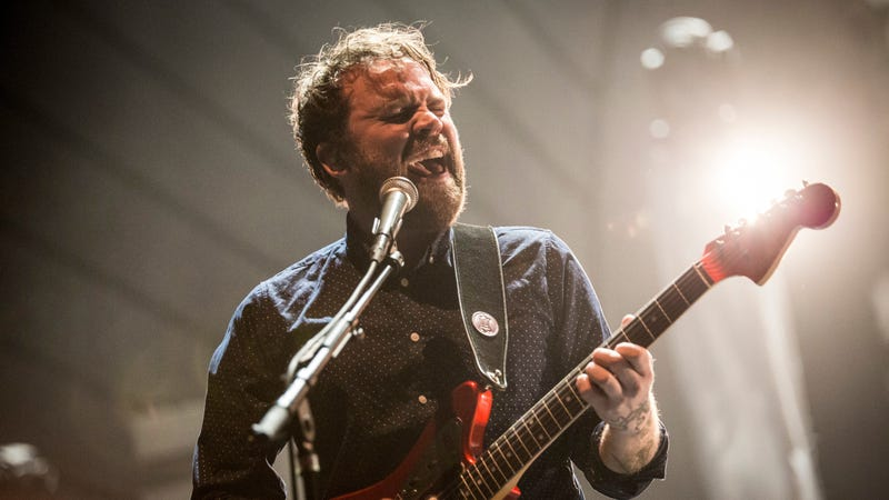 Illustration for article titled Ben Gibbard, Craig Finn, and more reflect on late Frightened Rabbit singer Scott Hutchison in new documentary