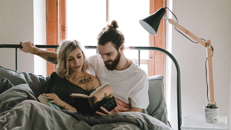You could read a book! Snuggle with a loved one! Use a lamp!