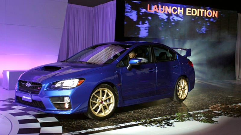 Subaru Wrx Sti Launch Edition >> There Are Only 1 000 Copies Of The 2015 Subaru Wrx Sti You