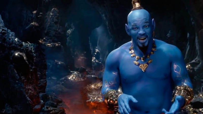 Illustration for article titled La razón por la que el genio de Aladdin siempre es azul