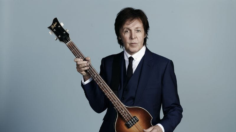 Illustration for article titled Paul McCartney: New
