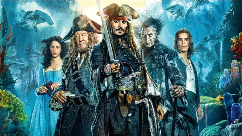 The fifth and most recent Pirates film was by far the series' lowest-grossing in the U.S.