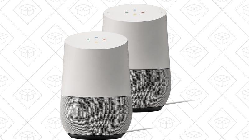 2-Pack Google Homes | $130 | Best Buy