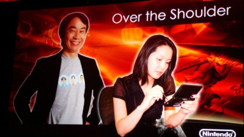 Illustration for article titled AVC at GDC '09, Day Three: Shigeru Miyamoto Does It Over The Shoulder