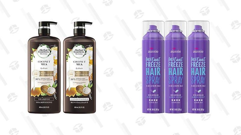 Aussie and Herbal Essences Gold Box | Amazon