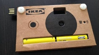 Illustration for article titled Of Course Ikea's Digital Camera Is Made of Cardboard