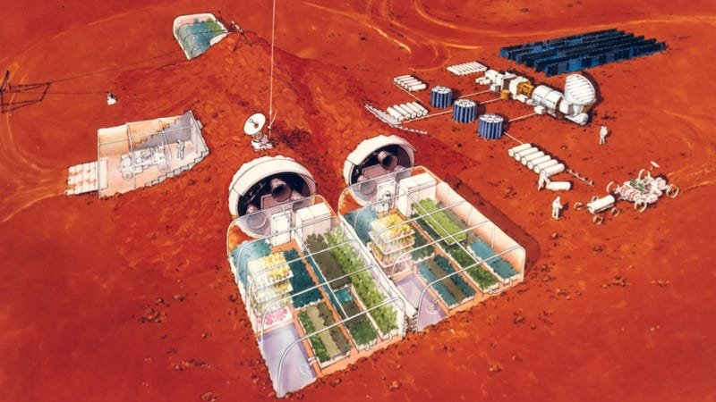 Illustration for article titled All The Reasons Why We Can't Send Someone To Mars… Yet
