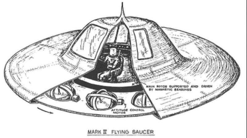 """Illustration for article titled FBI comes clean about infamous """"UFO memo"""""""