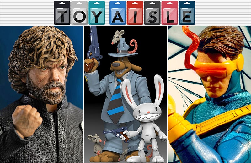 Illustration for article titled Cyclops' Best Design Gets a Great Figure, and More Xcellent Toys of the Week