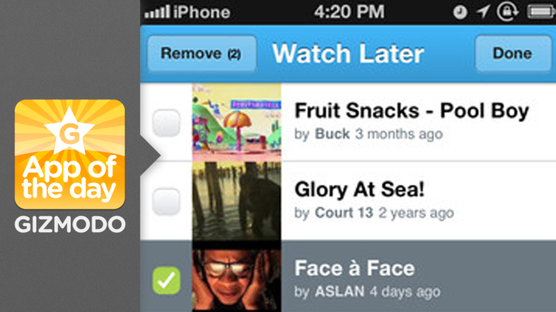 Illustration for article titled Vimeo for iPhone: Watch Amazing Short Films in a Simplified App