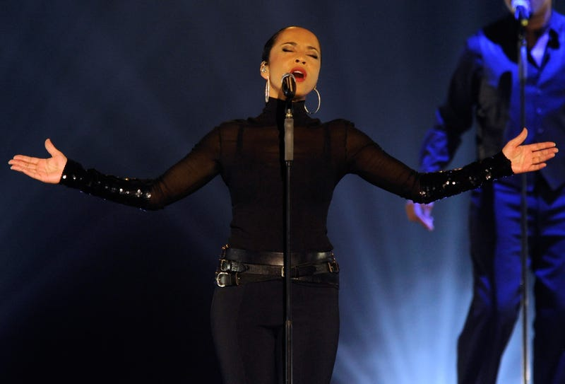 Sade performs at the MGM Grand Garden Arena in Las Vegas on Sept. 3, 2011.