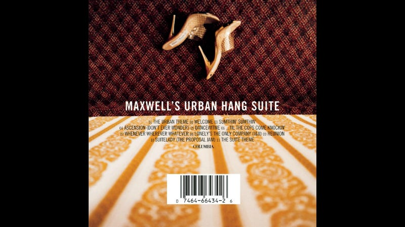 Illustration for article titled You Should Have Sex to Maxwell's Urban Hang Suite