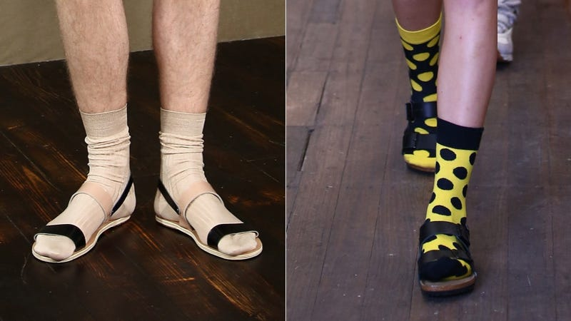 Illustration for article titled Socks With Sandals Are Never, Ever Okay