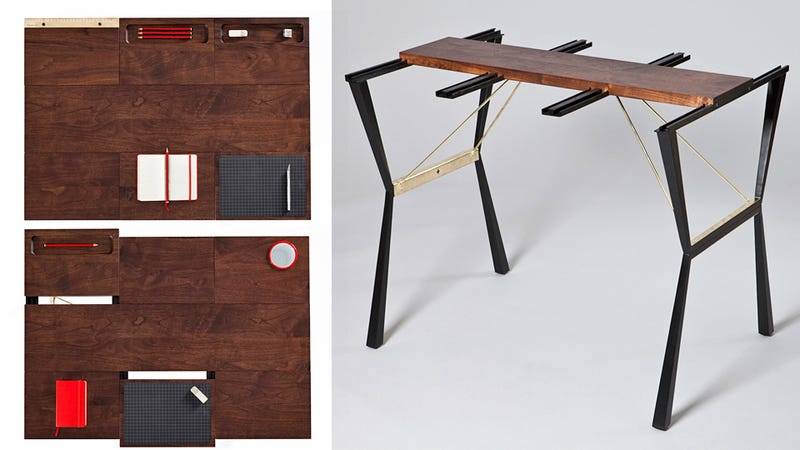 Illustration for article titled Mix and Match the Multi-Function Tiles on This Table Like Your Smartphone's Homescreen