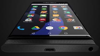 Illustration for article titled Si esta es la 1ª Blackberry con Android, se parece mucho a un S6 Edge