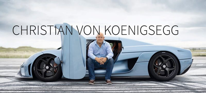 Illustration for article titled Christian Von Koenigsegg Specs His $1.9 Million Supercar Like His First Mazda Miata