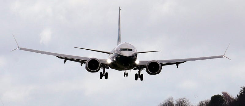 Boeing aterrizando. AP