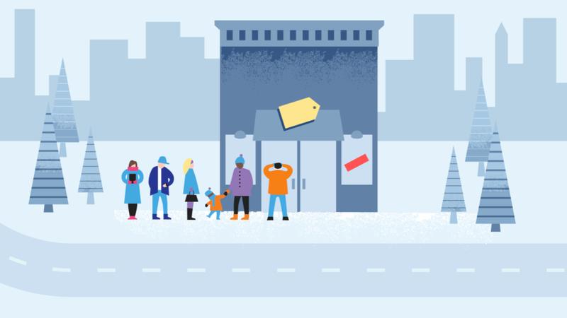 Illustration for article titled De 2 a 4 de la tarde, las peores horas para comprar en Black Friday según Google