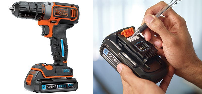 Illustration for article titled Black+Decker Put a USB Port On Its New Bluetooth Batteries To Charge Your Phone Too