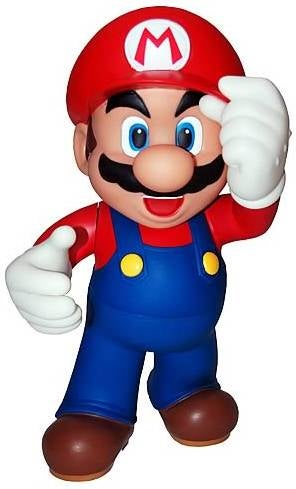 "Illustration for article titled 12-Inch DS-Holding Mario Says ""Mama Mia, You'll-a Never Get a Girlfriend!"""