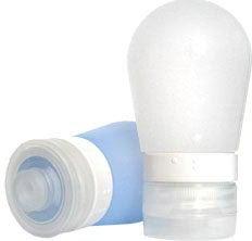 Illustration for article titled Leakproof Silicone Travel Bottles for Road Warrior Quaffers