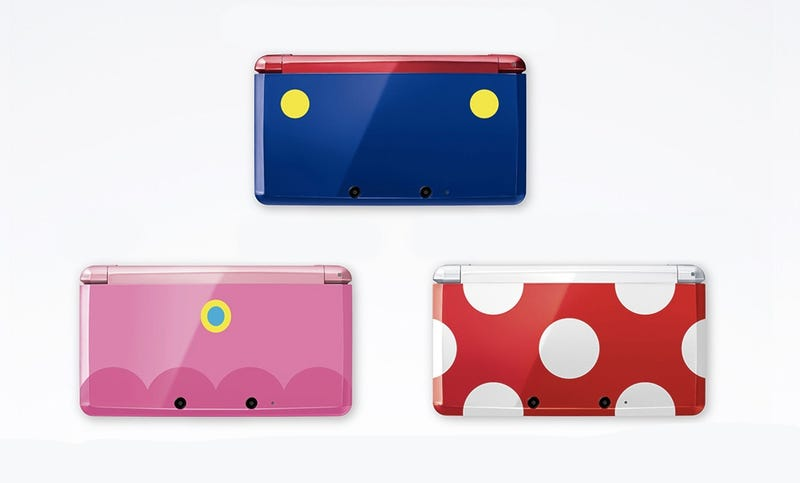 Illustration for article titled Three Incredibly Cool, Incredibly Rare Nintendo 3DS Consoles