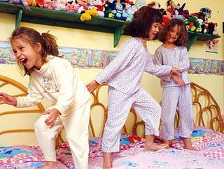 Illustration for article titled Third-Grade Slumber Party A Snakepit Of Machiavellian Alliances