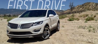 Illustration for article titled 2015 Lincoln MKC First Drive: It's Surprisingly Not Bad