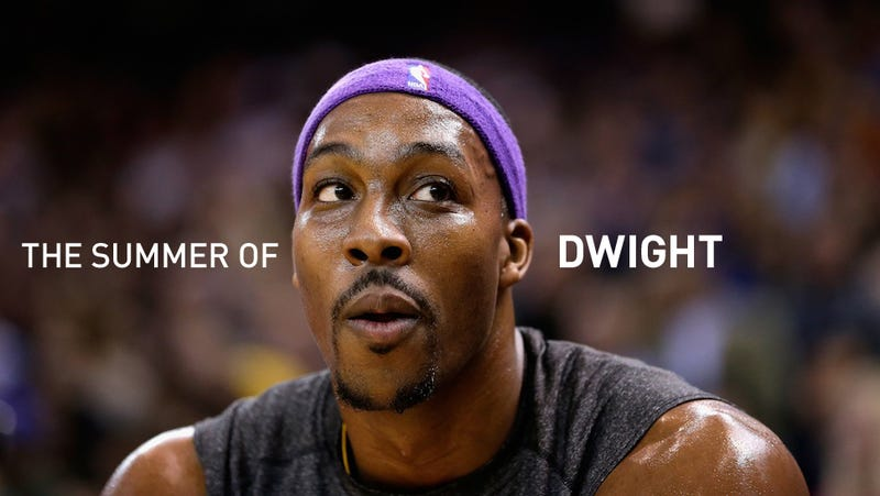 Illustration for article titled OK, Who Wants To Sign Dwight Howard?