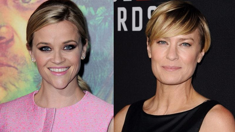 Reese Witherspoon and Robin Wright (Photos: Albert L. Ortega/Getty Images; Jason LaVeris/Getty Images)