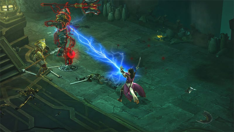 Illustration for article titled Diablo III Just Got Harder Than Hell With New 'Inferno' Difficulty