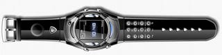 Illustration for article titled Van Der Led WM2 Cellphone Watch Actually Looks Good Enough to Strap On