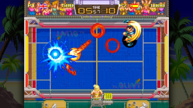 Illustration for article titled Windjammers Is Still Just As Good 23 Years Later