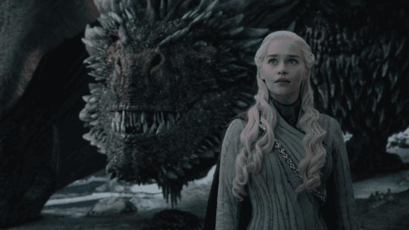 Dragon and Daenerys.