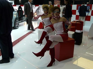 Illustration for article titled Booth Professionals Of The 2008 Geneva Motor Show