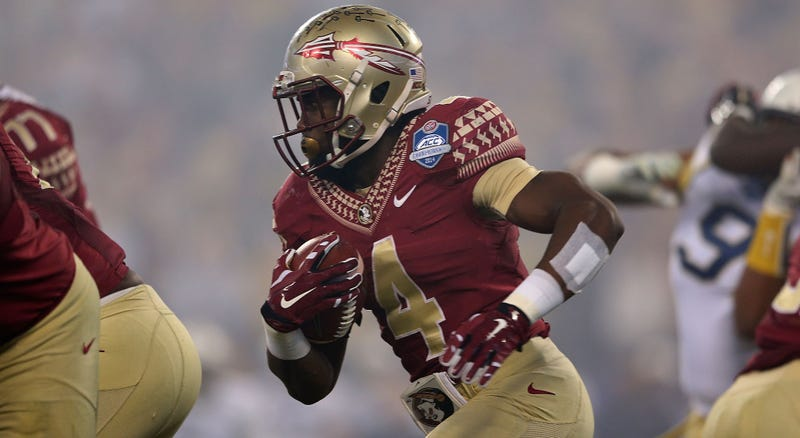 Illustration for article titled Florida State Takes Team Photos With, Without Dalvin Cook