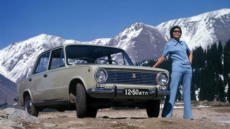 Illustration for article titled The First Lada Was Way More Than Just A Re-Badged Fiat