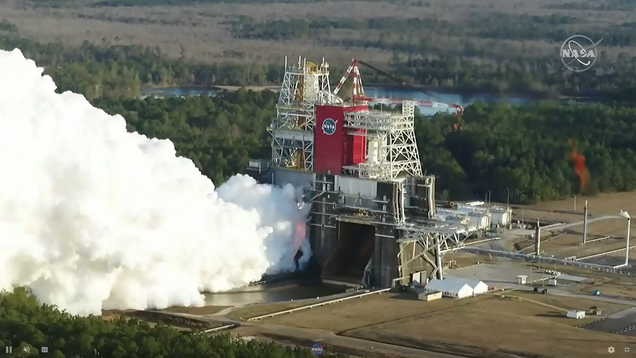 Watch Live as NASA Performs a Second Hotfire Test of Its New Megarocket