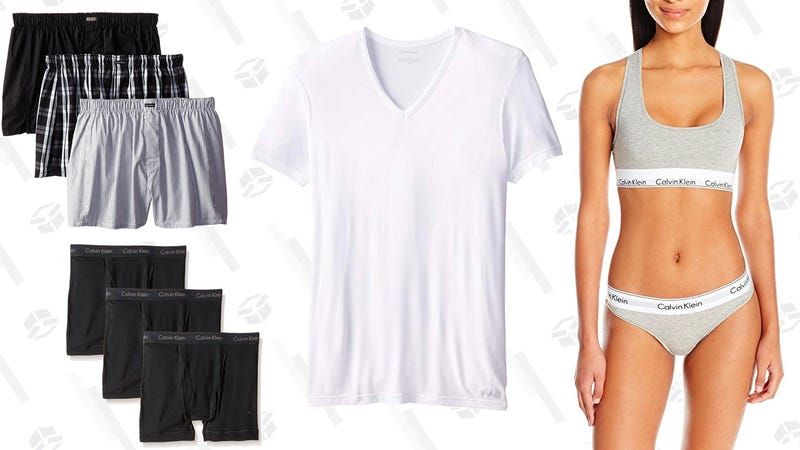 Up to 50% off Calvin Klein | Amazon | Prime members only